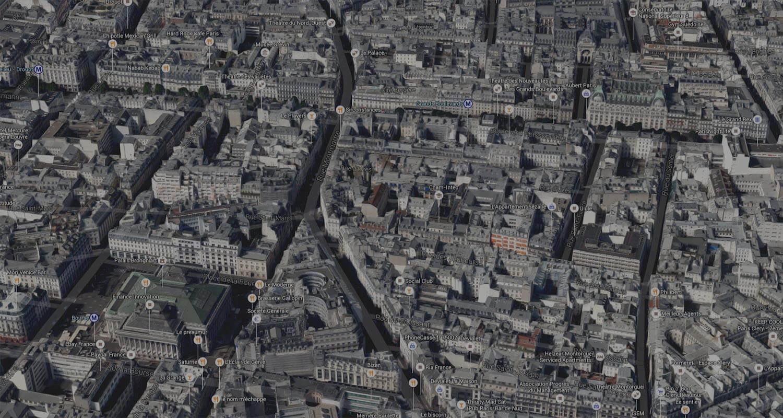 Cartographie avancée pour l'immobilier d'entreprise par IPSO-FACTO